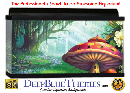 Buy Aquarium Background Awesome Shroom Aquarium Background