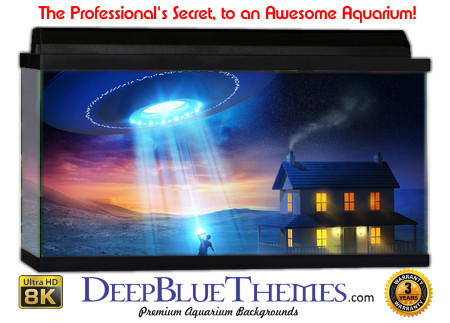 Buy Aquarium Background Awesome Ufo Aquarium Background