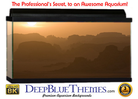 Buy Aquarium Background Desert Mist Aquarium Background