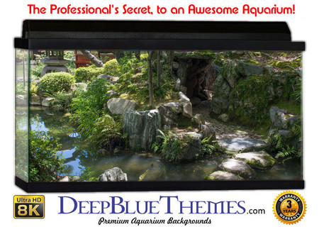 Buy Aquarium Background Garden Peace Aquarium Background