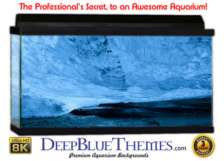 Buy Aquarium Background Ice Ceiling Aquarium Background