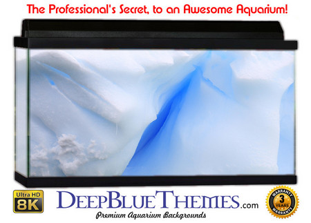 Buy Aquarium Background Ice Crystal Aquarium Background
