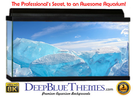 Buy Aquarium Background Ice Desert Aquarium Background