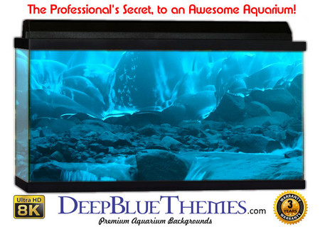 Buy Aquarium Background Ice Flow Aquarium Background