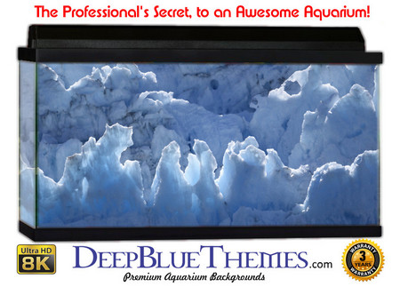 Buy Aquarium Background Ice Melt Aquarium Background