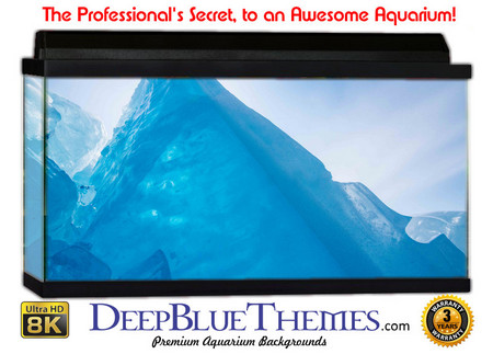 Buy Aquarium Background Ice Mountain Aquarium Background