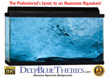 Buy Aquarium Background Ice Roof Aquarium Background