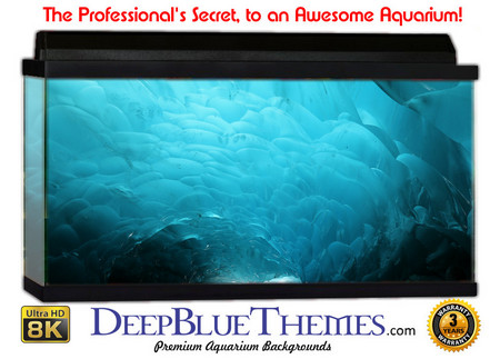 Buy Aquarium Background Ice Swirl Aquarium Background
