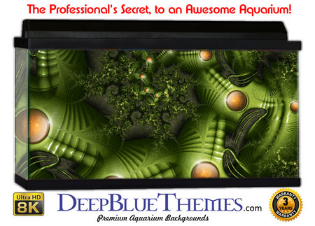 Buy Aquarium Background Jfractal Aliens Aquarium Background