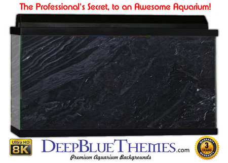 Buy Aquarium Background Marble Black Aquarium Background