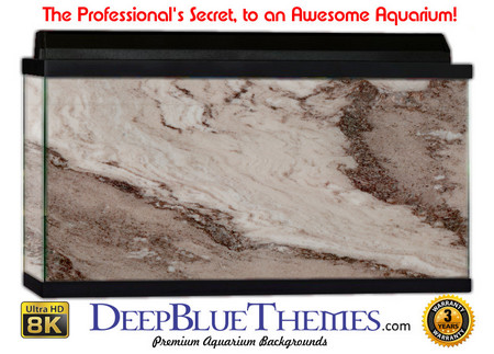 Buy Aquarium Background Marble Brown Aquarium Background