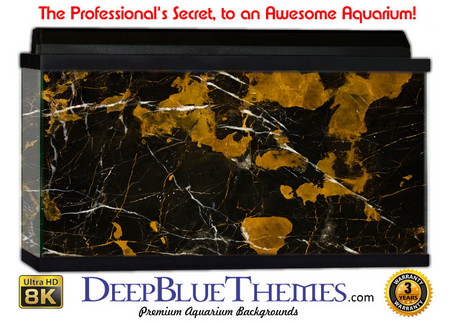 Buy Aquarium Background Marble Gold Aquarium Background