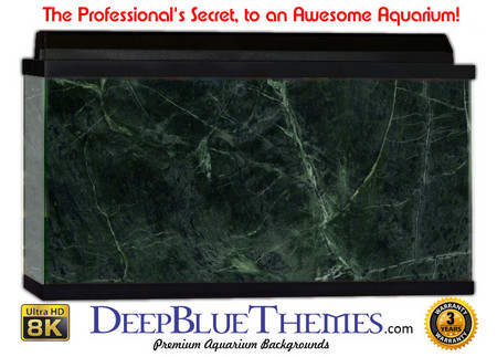 Buy Aquarium Background Marble Green Aquarium Background