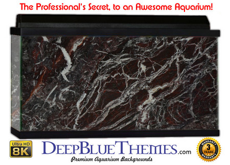Buy Aquarium Background Marble Rossa Aquarium Background