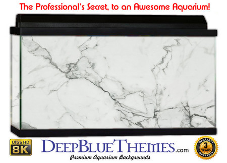 Buy Aquarium Background Marble White Aquarium Background