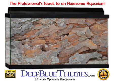 Buy Aquarium Background Rock Bark Aquarium Background
