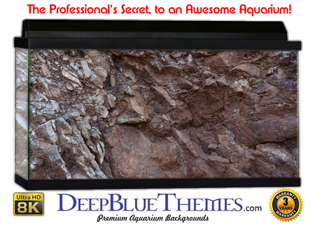 Buy Aquarium Background Rock Crack Aquarium Background