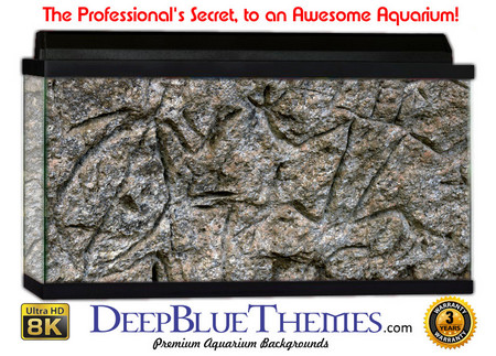 Buy Aquarium Background Rock Glyphs Aquarium Background