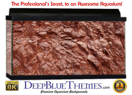 Buy Aquarium Background Rock Red Aquarium Background