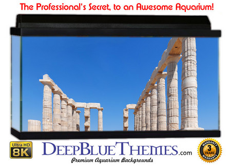 Buy Aquarium Background Ruins Poseidon Aquarium Background