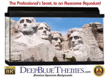 Buy Aquarium Background Travel Rushmore Aquarium Background