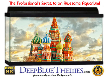 Buy Aquarium Background Travel Russia Aquarium Background