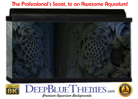 Buy Aquarium Background Unusual Fractal Aquarium Background